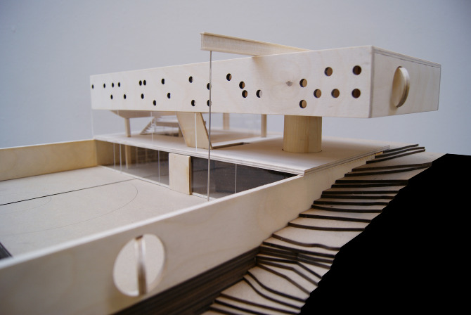Over 1000 billeder af architectural models p pinterest for Maison de l enfance bordeaux