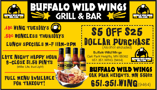 Buffalo Wild Wings is a very popular casual dining restaurant that operates in the US and Canada. The restaurant is famous for three things – Wings, Beer and Sports.