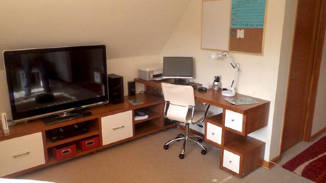 Sala De Tv Y Estudio ~  el lugar, dado que, además de ser sala de estudio, es una sala de tv