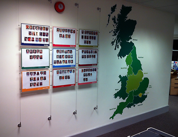 Office Wall Display For Uccf Fevendesign Com